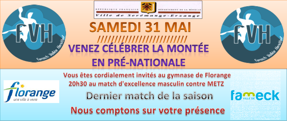 Invitation match séniors A (31/05)