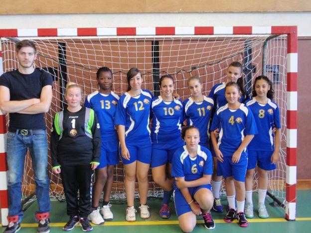 Equipe de -14 ans féminines