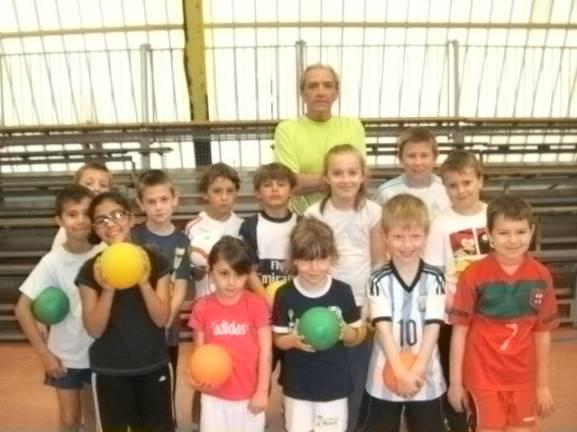 Equipe du baby handball