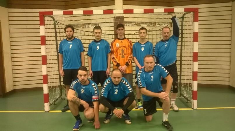 Photo de l'équipe des séniors B