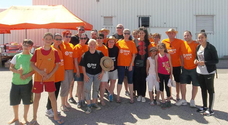 Une partie du comité du Fensch Vallée Handball